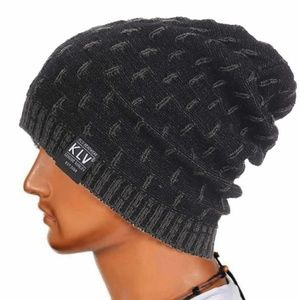 Other - Gray Soft Knitted Wool Slouchy Baggy Beanie Hat